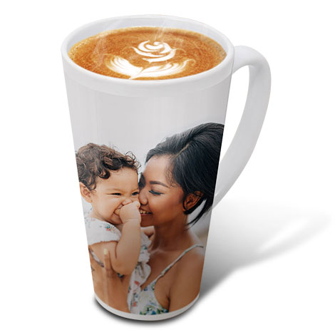 Image Of A Family On Mug