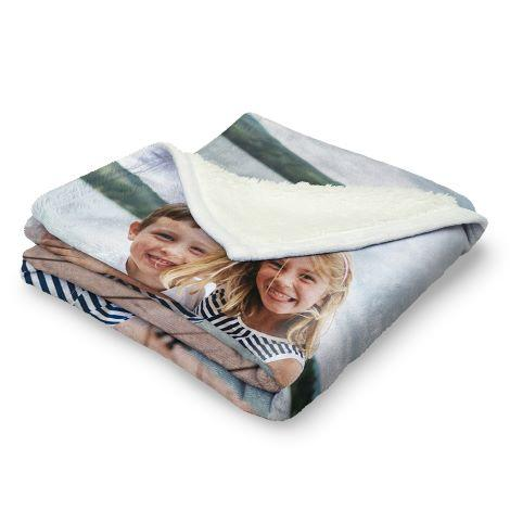 Premium Berber Fleece Photo Blanket
