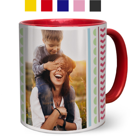 Coloured Coffee Mugs 330ml