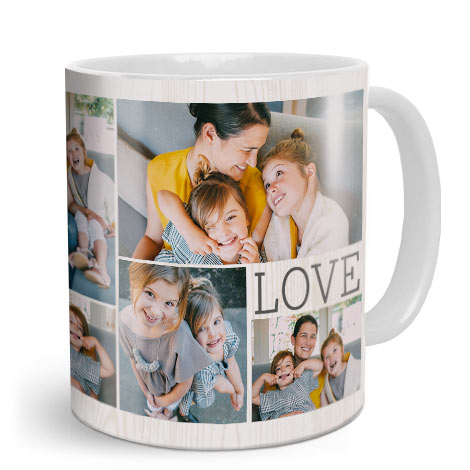 6bcac55542a Photo Mugs: Print personalised Photo & Collage Mugs | Snapfish UK