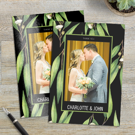 Customise your card finish by choosing from our matt or gloss options.