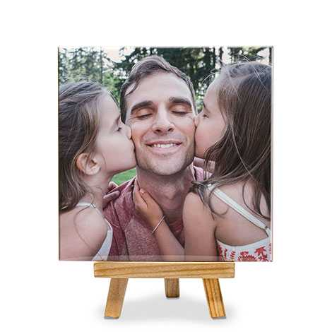 Photo Tile With Stand Image