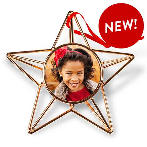 Copper Wire Star Ornament