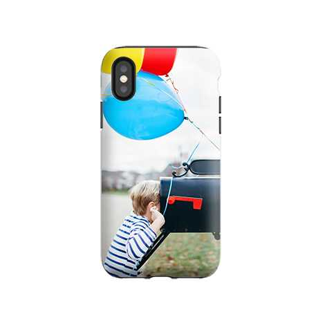 Icon iPhone XS Case, Tough