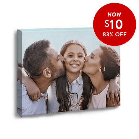 83% off 11x14 Canvas Prints
