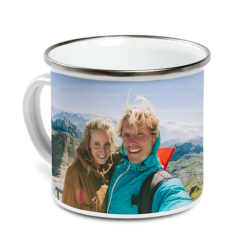 Icon Enamel Campfire Mug