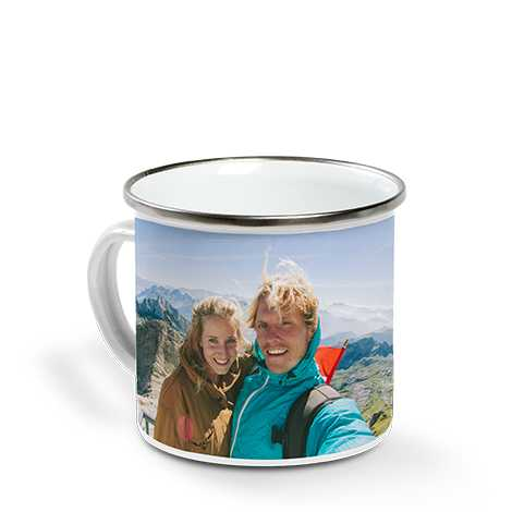 Enamel Campfire Mug Image