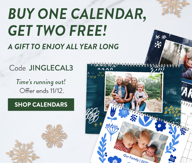 Buy 1 Calendar get 2 FREE