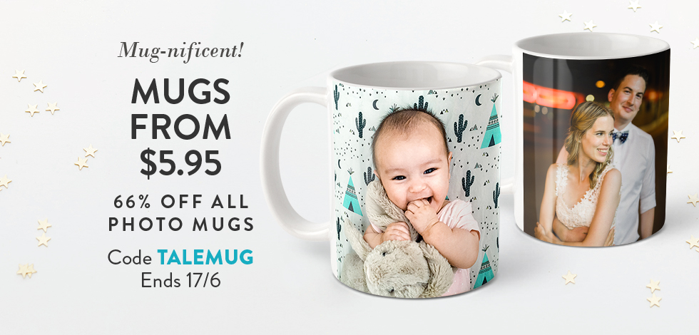 66% off all Photo Mugs