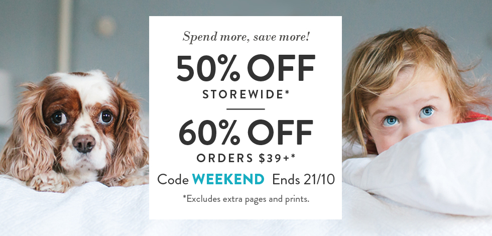 60% off orders $39 or more