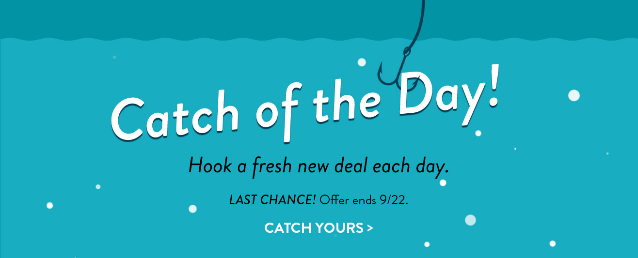 Catch of the Day! Daily Deals