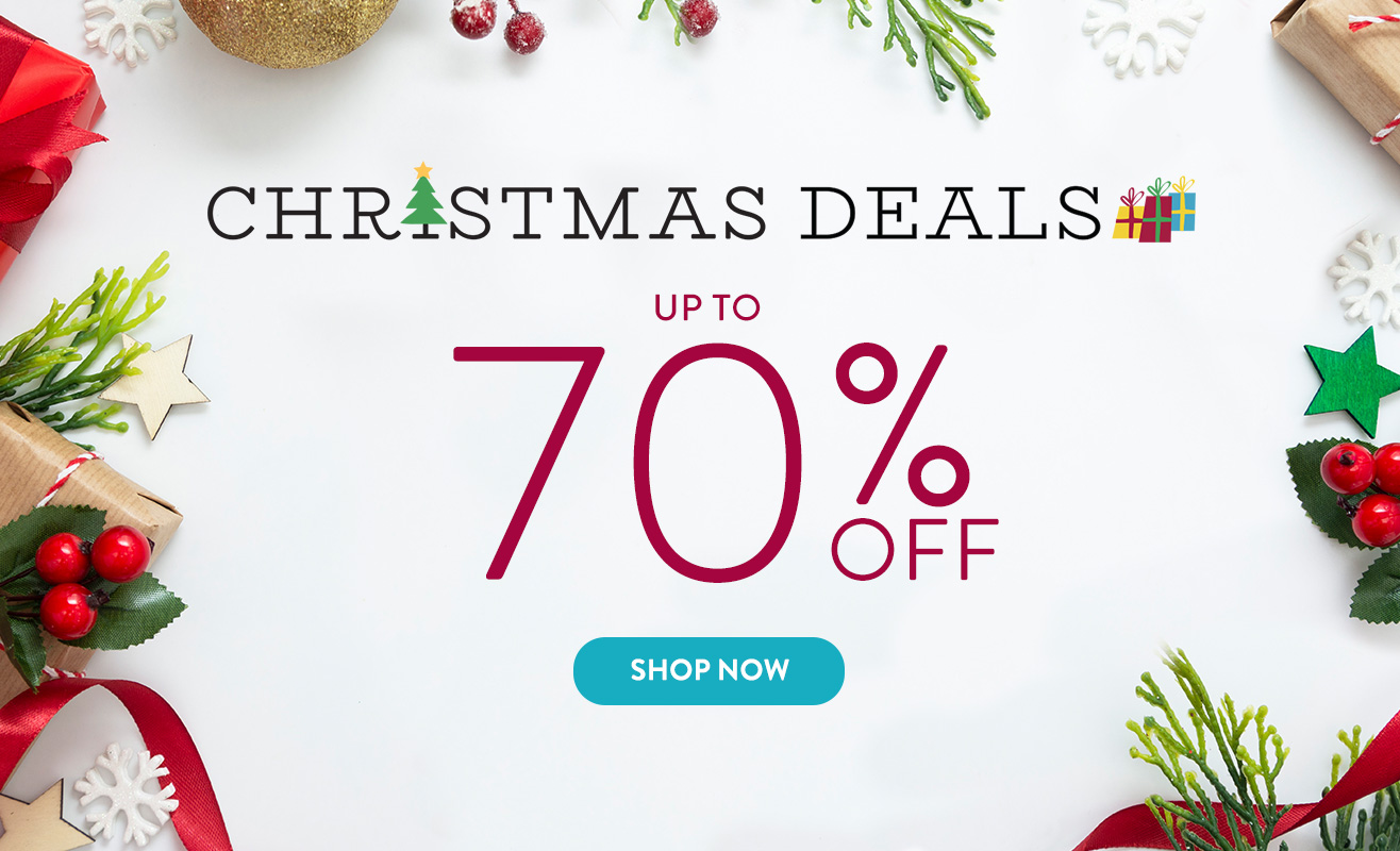 Up to 70% off Everything!