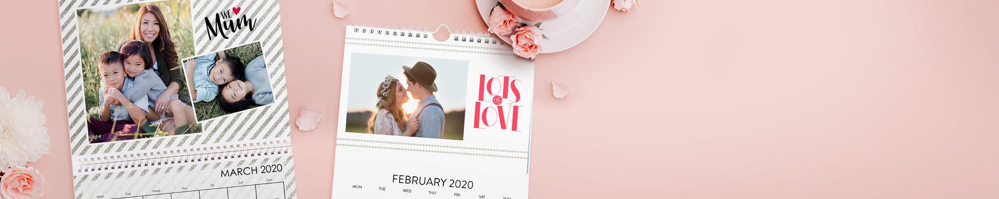 2020 Personalised Calendars