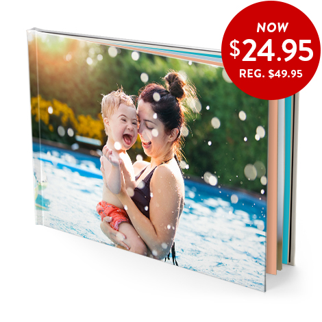 20x28cm hardcover book (glossy pages)