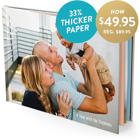 28x35cm premium book (glossy pages)