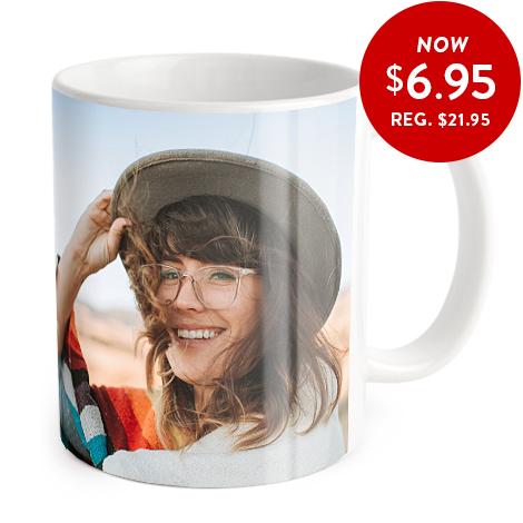咖啡杯上的照片都是面部照片