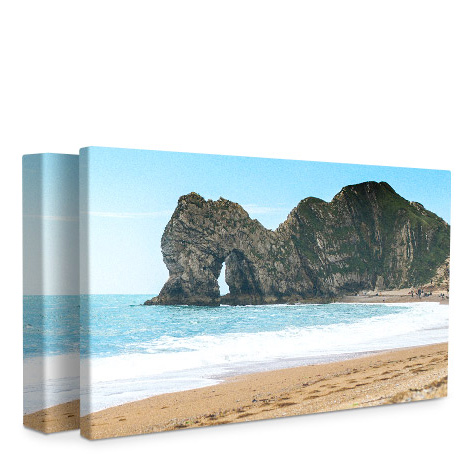 "Panoramic 24x12"" Slim Photo Canvas Print"