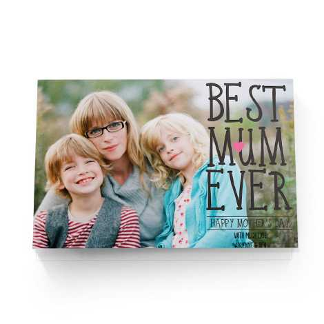mothers day card women holding young child