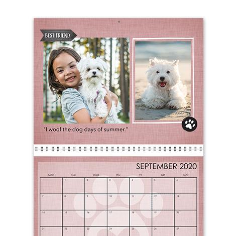 Pet Calendars