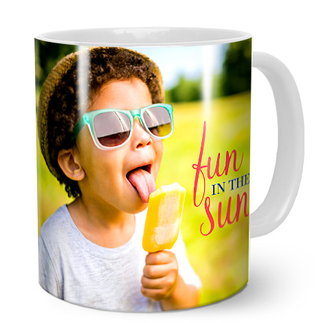 Image Of A Boy On Mug