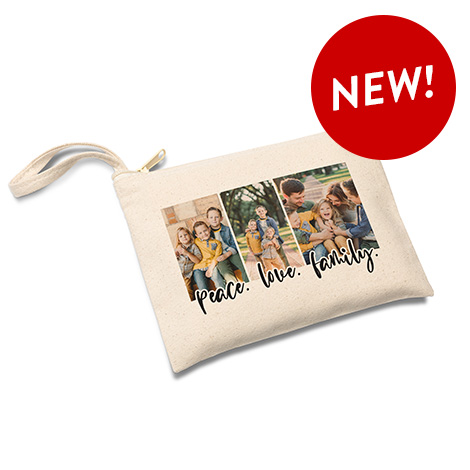 Zippered Canvas Pouch
