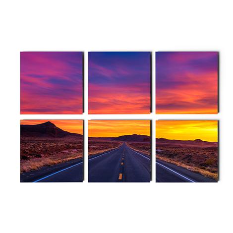 Split Photo Tile Sets