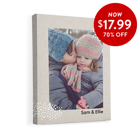 70% off 11x14 Canvas Prints