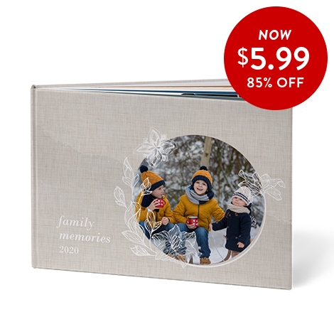 85% off 8x11 Hardcover Books