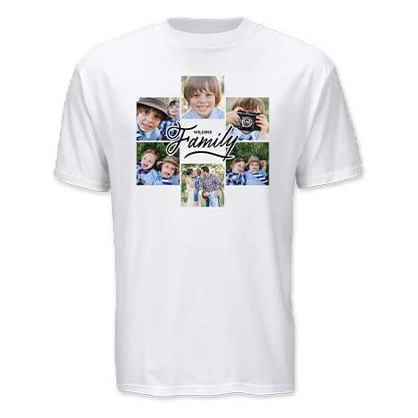 Custom Adult T-Shirt, White