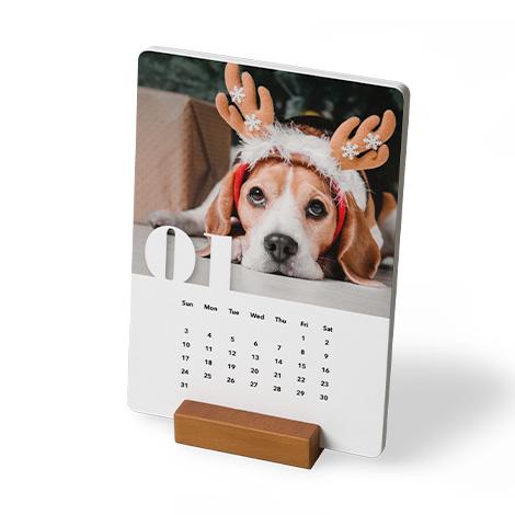 Wood Block Calendar