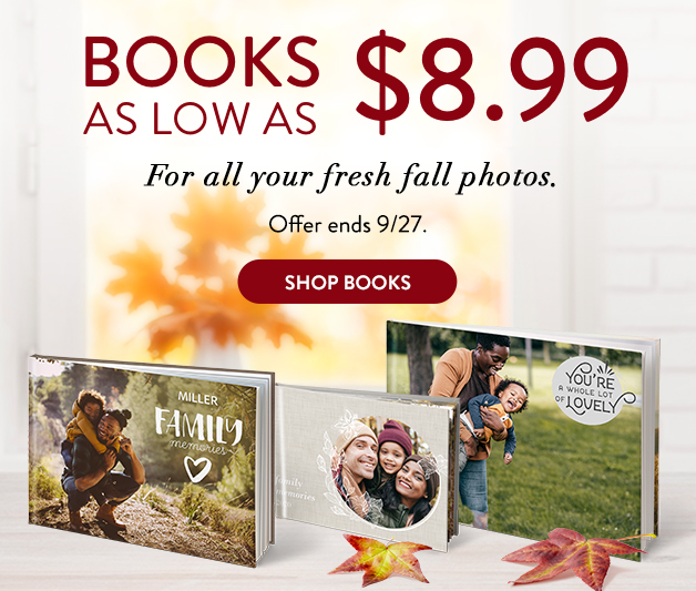 Books as low as $8.99