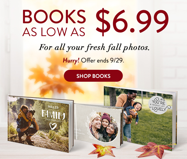 Books as low as $6.99