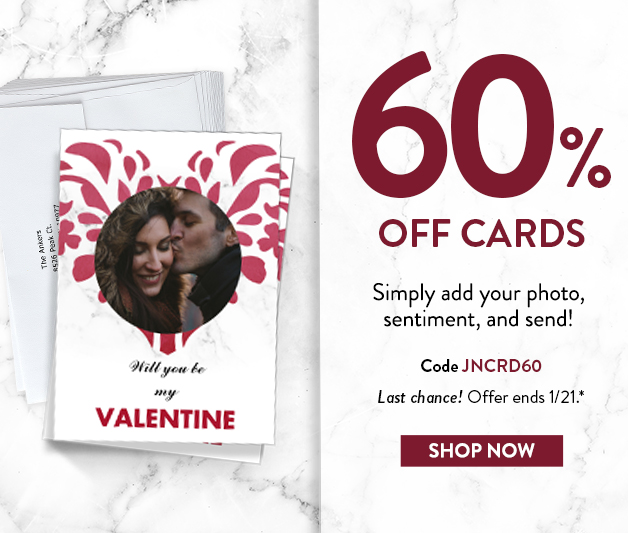 60% off cards