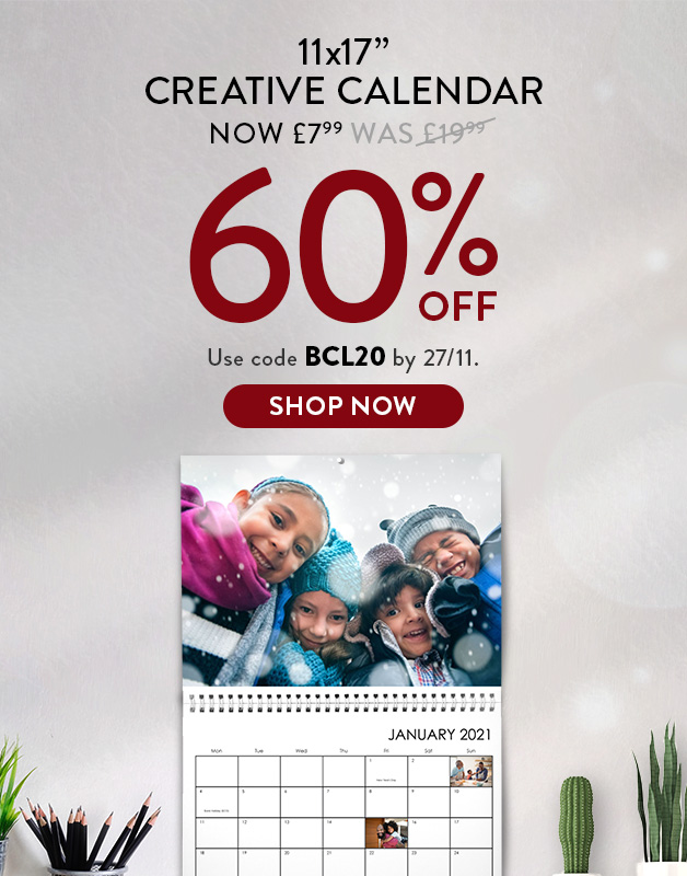 Up to 60% off Calendars!