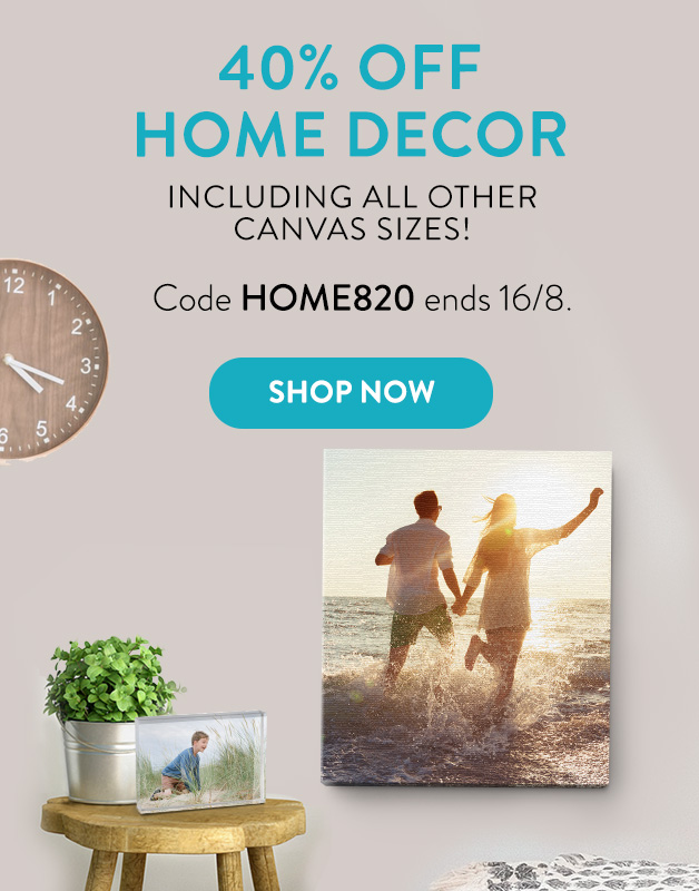 40% off Home Decor!