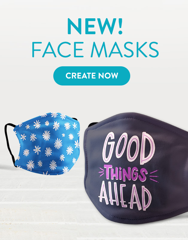 New, Personalised Face Mask!
