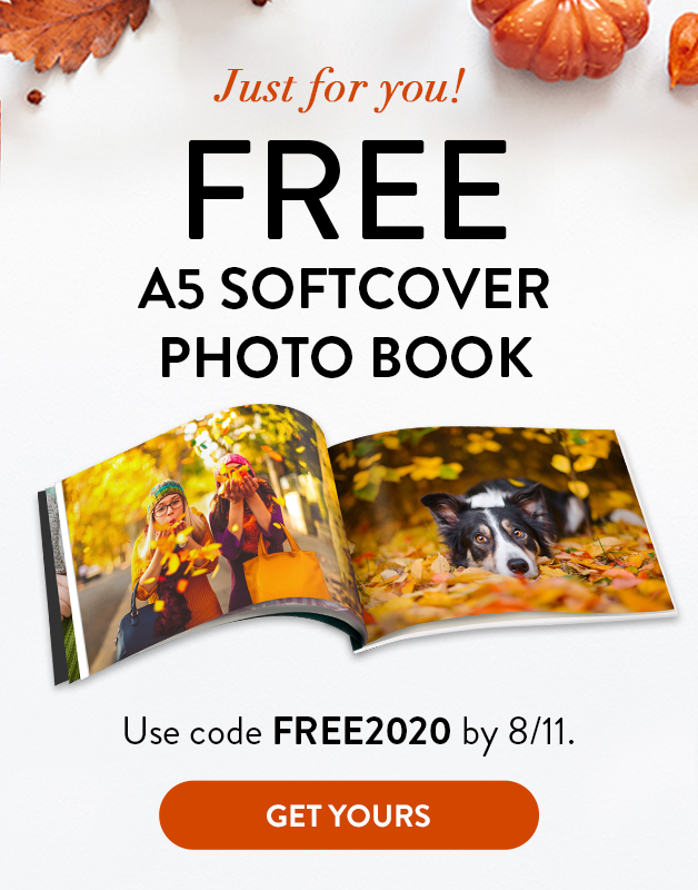 Free A5 Softcover Book!