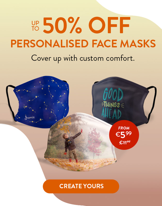 New Face Masks. Now up to 50% off!
