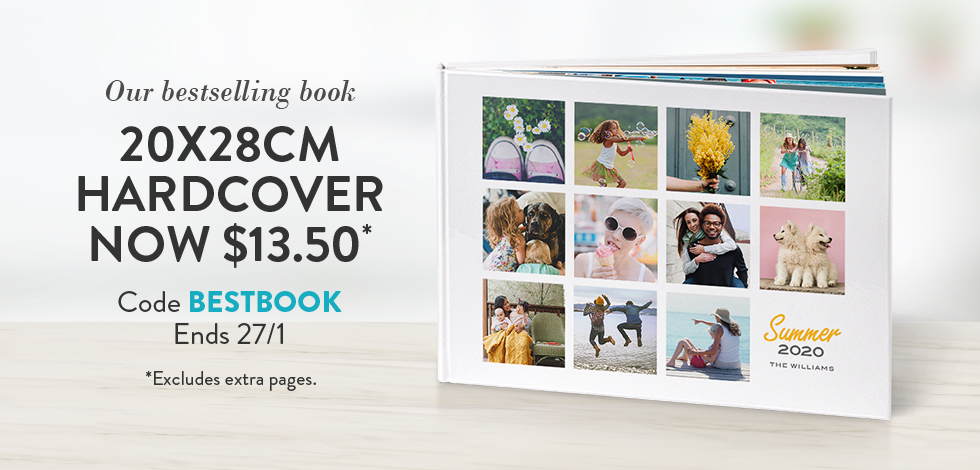 20x28cm Hardcover Book. Only $13.50*