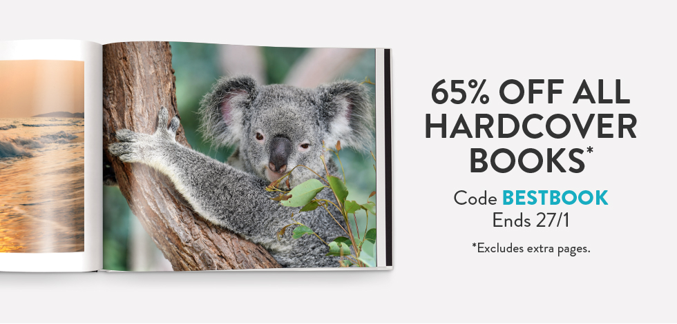 65% off all Hardcover Books*