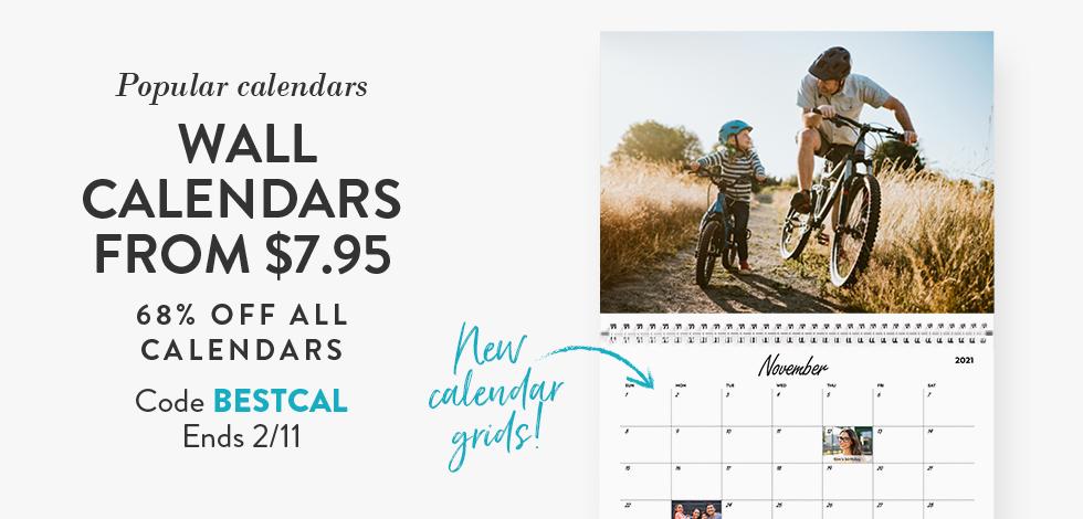 68% off all Calendars