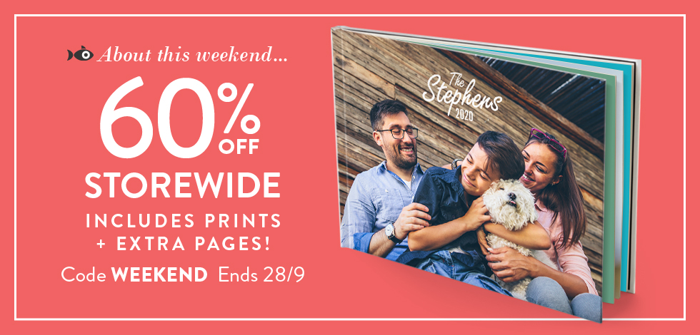 60% off storewide. No exclusions!