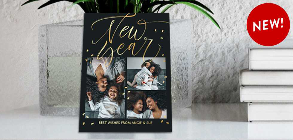 NEW! ADD CUSTOM FOIL TEXT TO OUR BEAUTIFUL FOIL CARDS