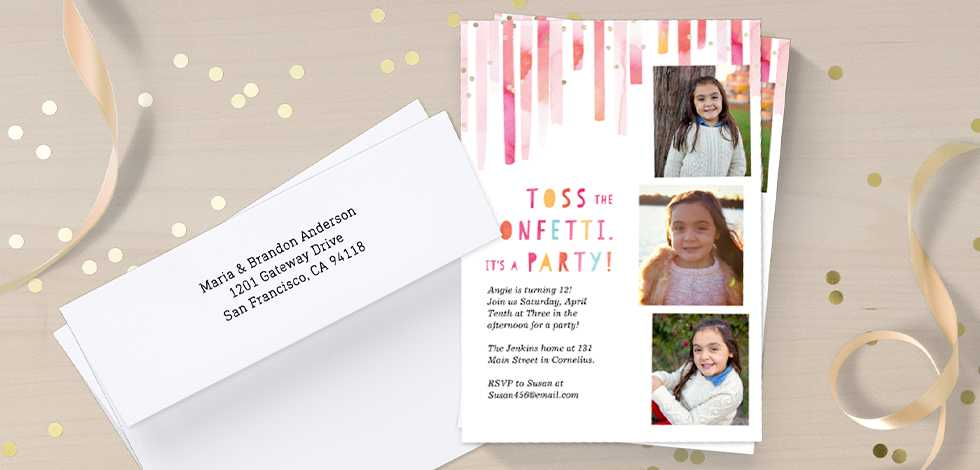SEND A SMILE WITH UNIQUE BIRTHDAY INVITATIONS