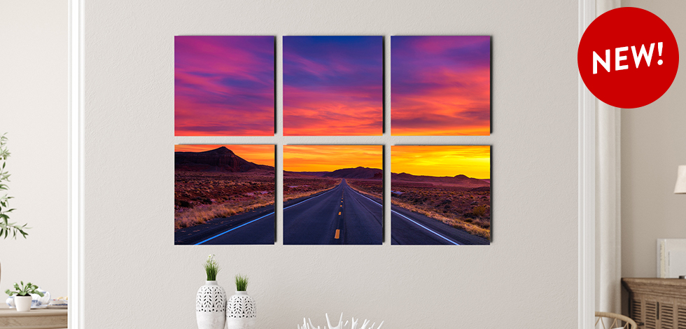 NEW! SPLIT PHOTO TILE SETS