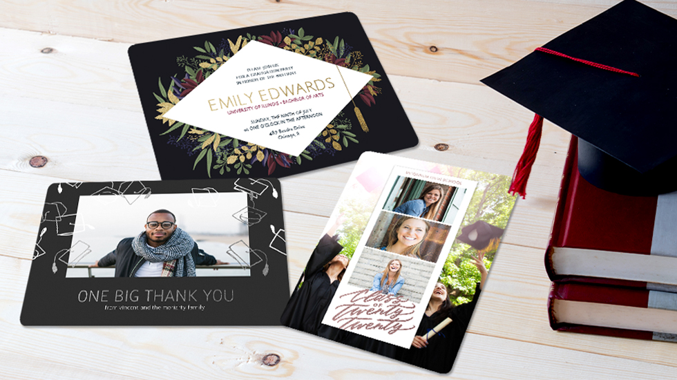 GRADUATION ANNOUNCEMENTS + CARDS