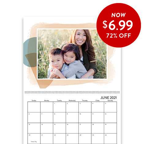 72% of 8.5x11 Wall Calendars