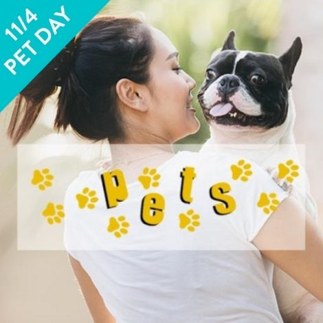 Image of pet and owner