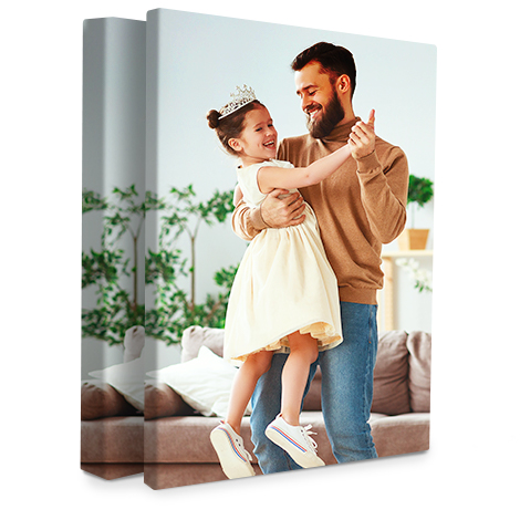 "Portrait 12x16"" Slim Photo Canvas Print"