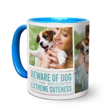 Light Blue Coffee Mug 11oz